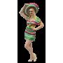Mexican Dress - Medium