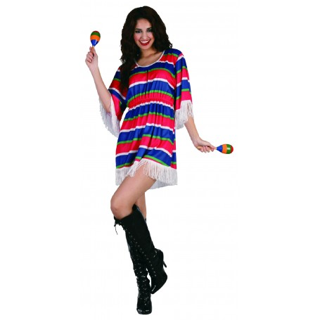 Mexican Girl Costume - Ladies