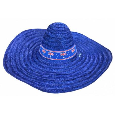 Mexican Sombrero - Aussie Blue