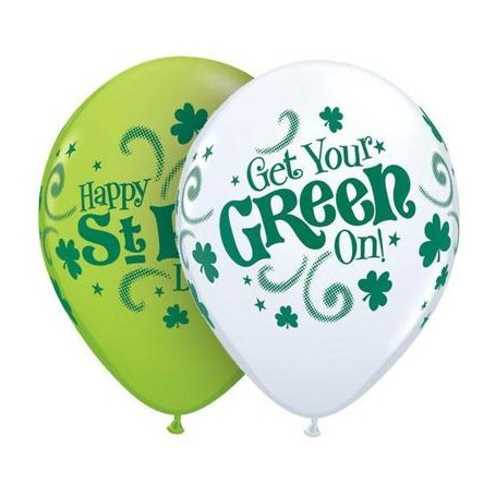 St Pat's Get your Green on - 4 sided print