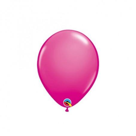 "Qualatex 5"" Round Latex Balloon - Fashion Wild Berry"