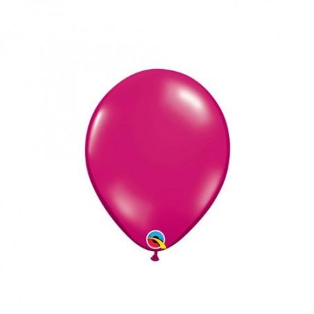"Qualatex 5"" Round Latex Balloon - Jewel Magenta"
