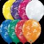 "Happy Anniversary Assortment - 11"" Qualatex Latex Balloon"