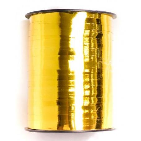 Curling Ribbon Elegant FLAT 455m - Metallic True Gold