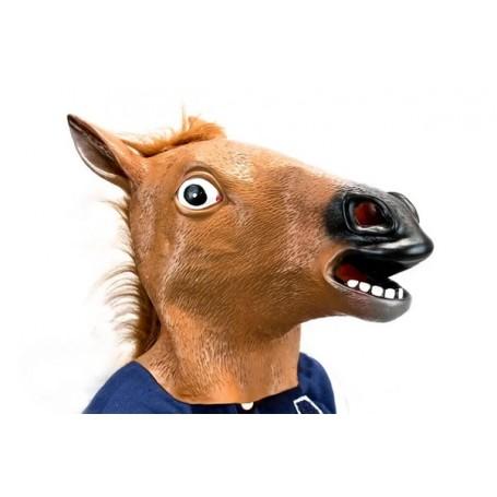Horse Head Novelty Mask