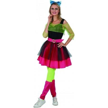 80's Girl Ladies Costume