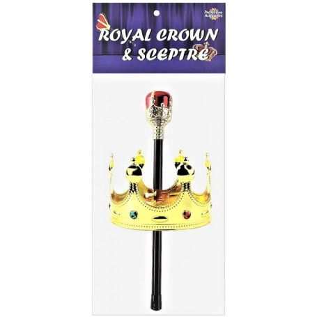 Kings Royal Sceptre & Crown Set