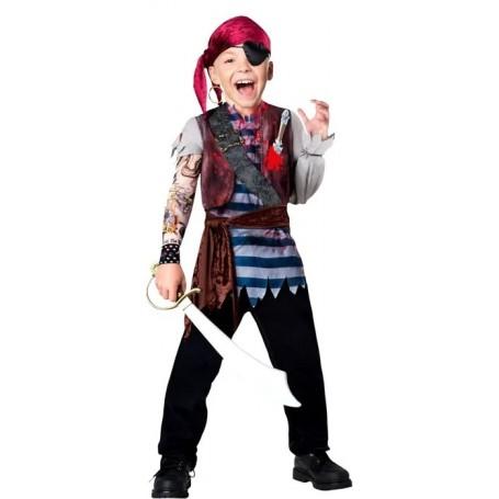 Rebel Pirate Costume - 13+