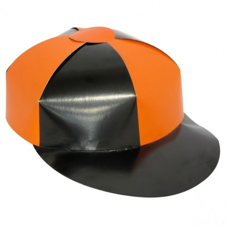 Carboard Jockey Hats Assorted Colours - Single Pk 1