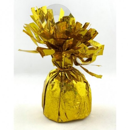 Foil Balloon Weight Pudding - Prismatic Gold