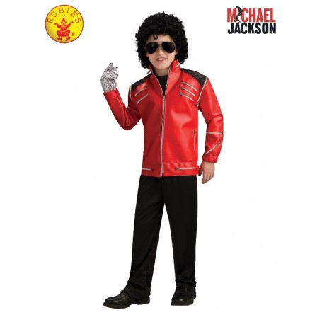 Michael Jackson Deluxe Beat It Red Jacket