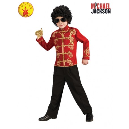 Michael Jackson Red Military Jacket - Child