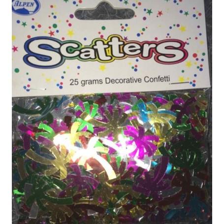 Palm Tree Foil Scatter Confetti - 14g