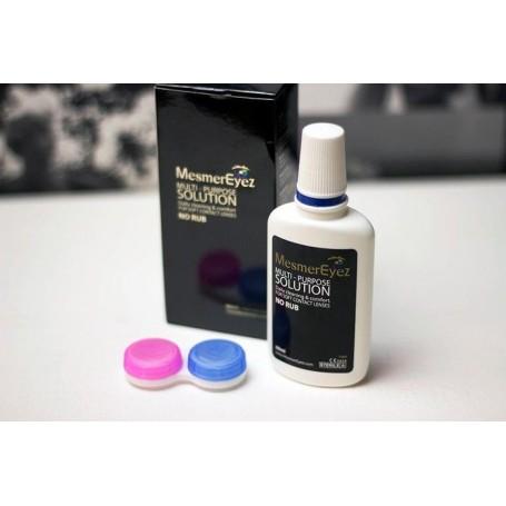 Mesmereyez Contact Lens Kit - Case & Solution